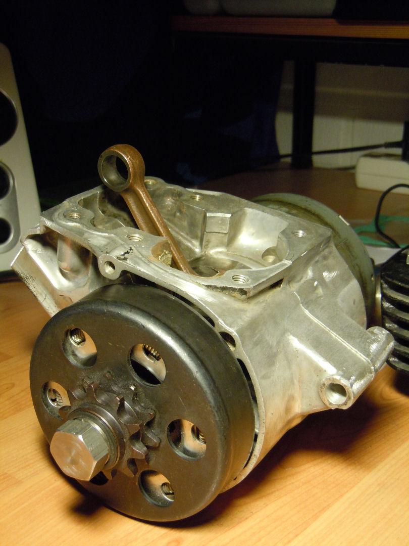Irtomoottori keskipakokytkimellä